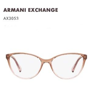 Armani Exchange AX3053 Bifocal Glasses 53-16-140
